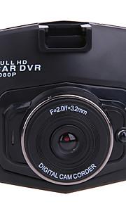 m001 hd 1280 x 720 / 1080p auto DVR kamera 120 stupňů široký úhel 2,4 palce LCD přístrojová deska s nočním viděním / g-senzor / pohyb / wdr