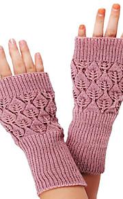 30 Γυναικεία Μονόχρωμο Βίντατζ   Βασικό Χωρίς Δάχτυλα Γάντια bfa42fd0f6e