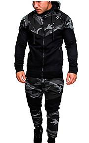 Hombre Básico Sudadera / Activewear camuflaje