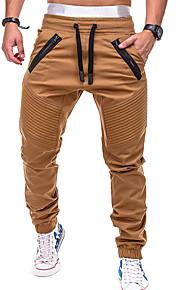 Erkek Actif / Temel Chinos Pantolon - Solid Gri