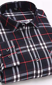 男性用 シャツ レギュラーカラー チェック