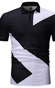 メンズシャツ - 幾何学的なシャツの襟