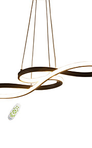JSGYlights 인공위성 / 아일랜드 샹들리에 엠비언트 라이트 Painted Finishes 금속 실리카 젤 뉴 디자인 110-120V / 220-240V 원격 제어로 조광 가능