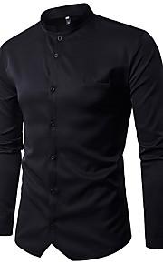男性用 シャツ ベーシック ソリッド