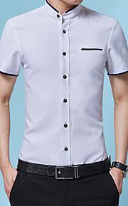 Муж. Вышивка Рубашка Графика Белый XXXL