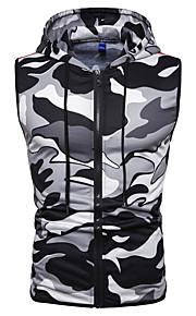 Ανδρικά Αμάνικη Μπλούζα καμουφλάζ Στάμπα Ρουμπίνι XL
