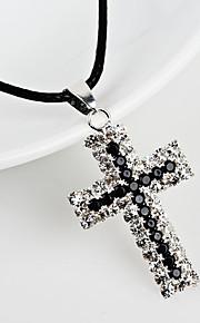 Dámské Geometrické Náhrdelník Moderní Cool Černá 30 cm Náhrdelníky Šperky 1ks Pro Denní