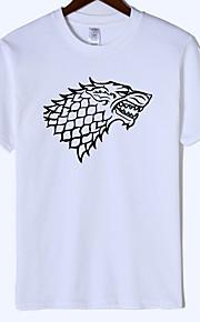 Ανδρικά T-shirt Ζώο Κρασί XL