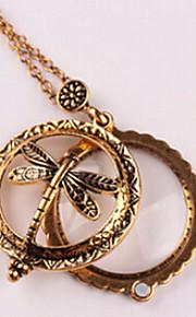 Dámské Náhrdelník umělecké Půvab Starožitný bronz 30 cm Náhrdelníky Šperky 1ks Pro Denní