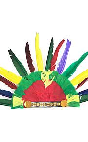 헤드 피스 에서 영감을 받다 코스프레 아메리카 인디언의 에니메이션 코스프레 악세서리 헤드 웨어 깃털 모두 헤드 피스 할로윈 의상