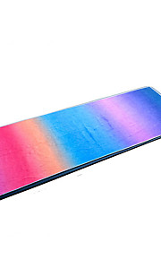 Podložka na jógu Ultra Slim, Elastický, Lepkavý, Skládací Superfine vlákno Pro Duhová, Fialová