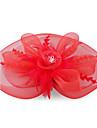 Kate Middleton stil ceas: pene roșu și organza dantelă flori de nunta si fascinator partid