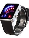 silicon banda de 29 LED-uri ceas de mână