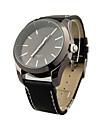 """doamne fermecătoare """"cuarț circulație PU cu formă rotundă ceas de mână (mai multe culori)"""