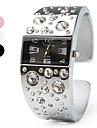 Pentru femei Ceas La Modă Ceas de Mână Ceas Brățară Simulat Diamant Ceas Quartz imitație de diamant Bandă Atârnat Argint