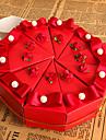 Piramidă Hârtie cărți de masă Favor Holder Cu Flori Cutii de Savoare