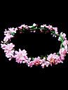 Cristal Material Textil Hârtie Diademe Flori 1 Nuntă Ocazie specială Party / Seara Diadema