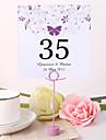 perla de hârtie numărul de carduri de poli sac geanta de plasare titularii de nunta recepție