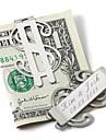 Teak Clip de bani Mire Naș de Căsătorie Nuntă Aniversare