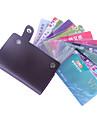 titulaire cuir utilitaire de cas de carte de poche (de couleur aléatoire)