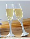Cristal Prăjire Flutes Nepersonalizat Cutie de Cadouri