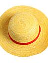 Pălărie/Șapcă Inspirat de One Piece Monkey D. Luffy Anime Accesorii Cosplay Șapcă / Pălărie Galben Funie de paie Bărbătesc