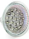 1W 60-80 lm GU10 GU5.3(MR16) Spoturi LED MR16 21 led-uri Dip LED Alb Cald Alb Natural AC 12V DC 12V AC 220-240V
