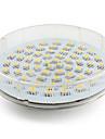 4W 300-350 lm GX53 Spoturi LED 60 led-uri SMD 3528 Alb Cald AC 220-240V