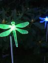 1 buc lumini de gradina / Lumini de gazon LED-uri de margele LED Putere Mare Ușor de Instalat / Decorativ Multicolor