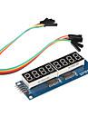 8 x afișează șapte segmente pentru modul (pentru Arduino) (595 conducător auto)