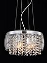 QINGMING® Hängande lampor Fluorescerande - Kristall Ministil, Trumma Modern, 110-120V 220-240V Glödlampa inte inkluderad