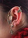Clip Earrings Others Alloy Punk Bronze Jewelry 2pcs