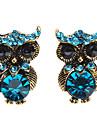Personalitate moda american Restaurarea cercei Owl antice