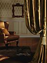 Deux Panneaux Le traitement de fenetre Europeen Neoclassique Chambre a coucher Polyester Materiel Rideaux Tentures Decoration d\'interieur
