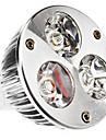 MR16 6W 540LM 3000-3500K LED-Spot med Varmt Vitt Ljus (12)