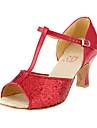 Paillette T-Curea latină / pantofi de bal femei de dans