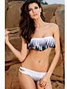 Femei bandeau Colorfule fara bretele Bikini salcam