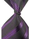 Elegant Stripes omului Classic țesute cravate de mătase