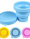 candy couleur silicone pliage 170ml tasse (couleur aléatoire)