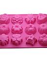 Instrumente de coacere Silicon Ecologic / #D Tort / Biscuiți / Plăcintă coacere Mold 1 buc