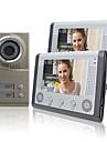 """Night Vision 7 """"video porttelefon För Grannar 2 Familjer Apartments billig uppsättning"""