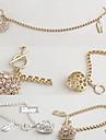 Versiunea coreeană de diamant completa dragoste pantofi de balet brățară B181