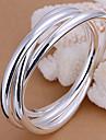 Brățări Brățări Bangle Articole de ceramică Others Design Unic La modă Petrecere Bijuterii Cadou Argint,1 buc