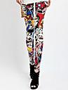 femeile de moda drăguț picioare de imprimare picioare, colorat, chic, moale, sportiv