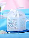 porumbei albi gol-out nunta favoarea design-cutii-un set de 10