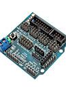 compatibil (pentru Arduino), senzor de scut v5.0 bord de expansiune senzor