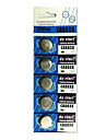 5st CR2032 3V Silver Button Cell Lithium batteri