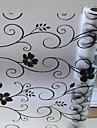 Floral Țara Geam Film,PVC a vinyl Material fereastra de decorare