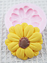 bakformen Blomma Paj Kaka Tårta Silikon Miljövänlig GDS (Gör det själv) Hög kvalitet
