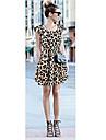 Leopard Casual Loose femei
